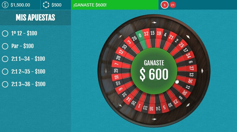 premio jugadores ruleta famosos