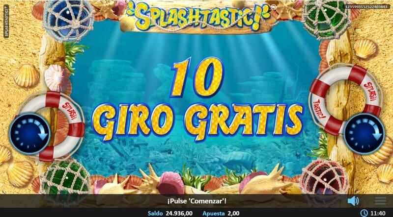 splashtastic giros gratis