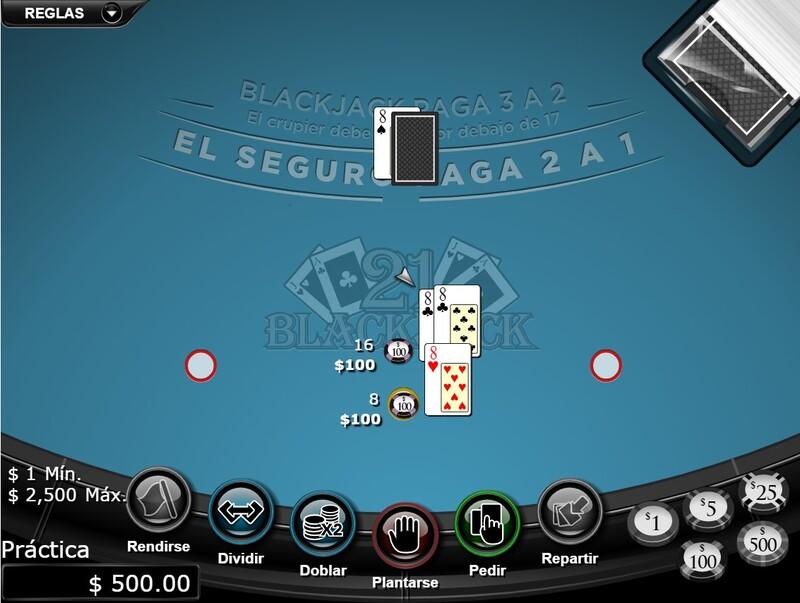 veintiuno blackjack