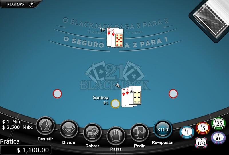 blackjack jogos online